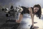 Rose McGowan y su pierna fusil en Planet Terror