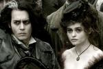 Johnny Depp y Helena Bonham Carter en Sweeney Todd