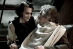 Johnny Depp y Alan Rickman en Sweeney Todd