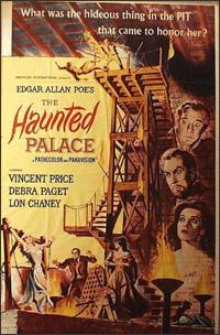 Vincent Price en 'El palacio de los espiritus'
