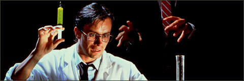 Re-animator poster (1985)