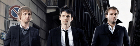 Muse grabando nuevo disco 2009
