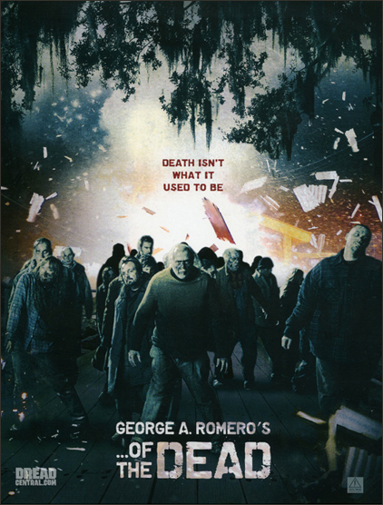 George A Romero of the dead poster