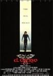 DVD de la película El Cuervo