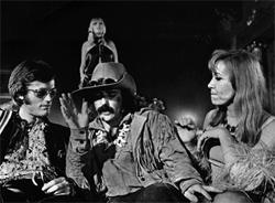 Dennis Hopper y Peter Fonda en Easy Rider