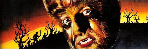 El hombre lobo cartel película 1941