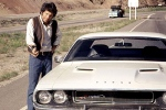 Kowalski usa un Dodge Challenger en Vanishing Point