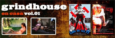 Carteles de las películas La violencia del sexo e Ilsa, la loba de las SS