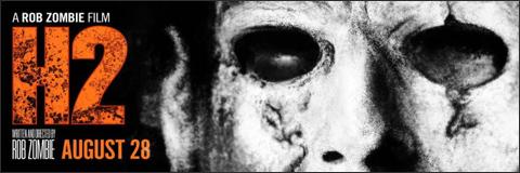Cartel de la película Halloween 2 de Rob Zombie