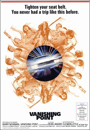 DVD de la película Vanishing Point