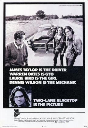 DVD de la película Carretera asfaltada en dos direcciones