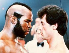Silvester Stallone en Rocky 3