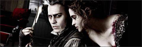 Crítica y posters de Sweeney Todd de Tim Burton