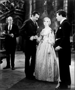 Madge Bellamy en White Zombie con Bela Lugosi