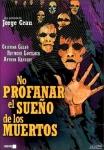 DVD de No profanar el sueño de lo muertos