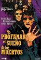 Carátula DVD de No profanar el sueño de los muertos, 1974