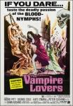 Cartel de Las amantes del vampiro