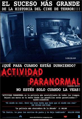 Actividad Paranormal  Actividad-paranormal-cartel