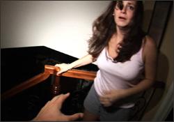 Katie Featherston en Actividad paranormal